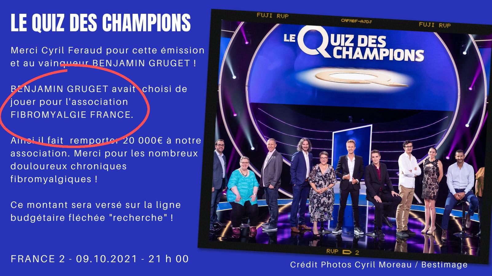 Quiz champions france 2 def